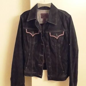 NWT Lucky Brand Blue Jeans Jacket
